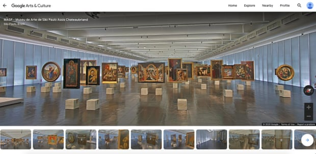 Museu de Arte Virtual Tour screenshot