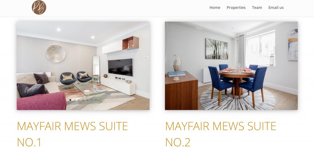 Pippa & Benoit properties page