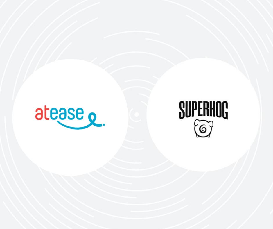 At Ease and SUPERHOG logos