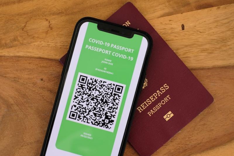 Vaccination passport developed by SUPERHOG