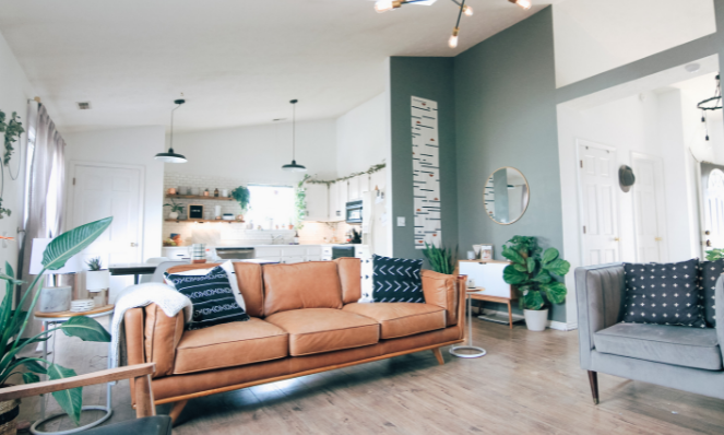 vacation rental interior design suited to remote workers